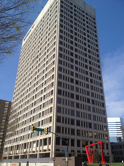 Bank of America building exterior photo