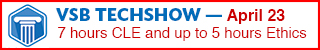 register now for the VSB TECHSHOW