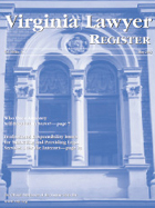 Cover of the Virginia Lawyer